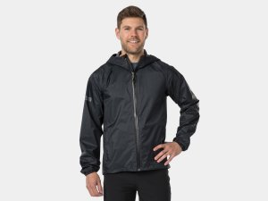 Bontrager Jacket Avert Bike Rain Large Black